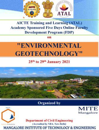 AICTE_FDP_Environmental_Geotechnology_Jan_25_29